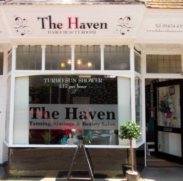 The Haven Hair and Beauty Salon in St Leonards